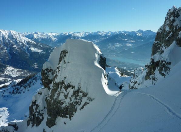 Ski de rando Réallon